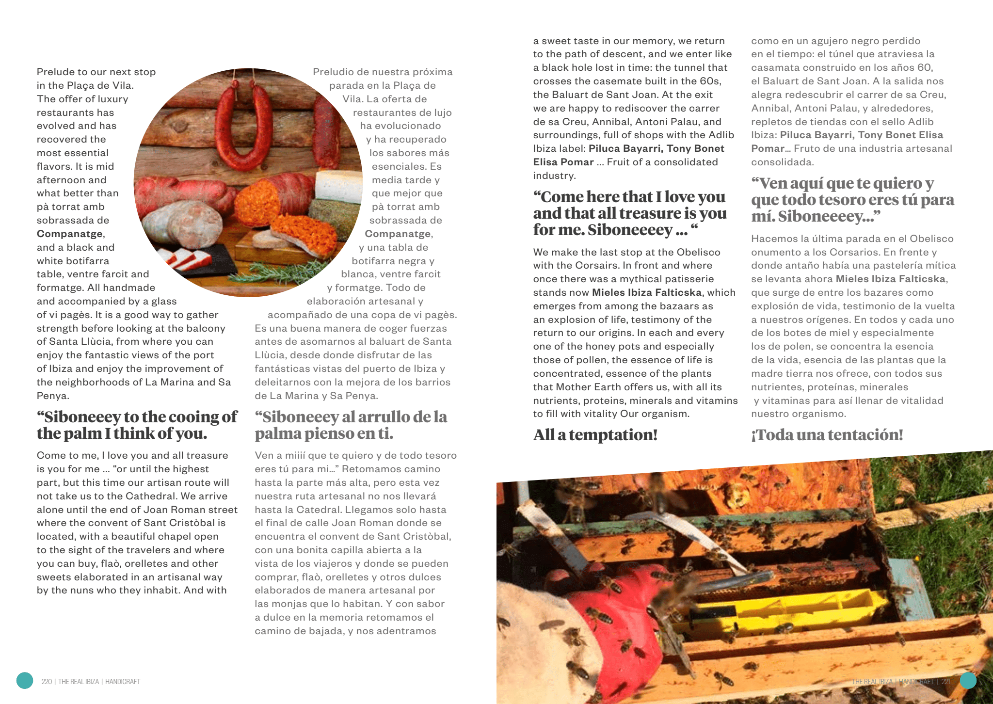 The Real Ibiza. Interview with Handycraft. Entrevista con Handycraft