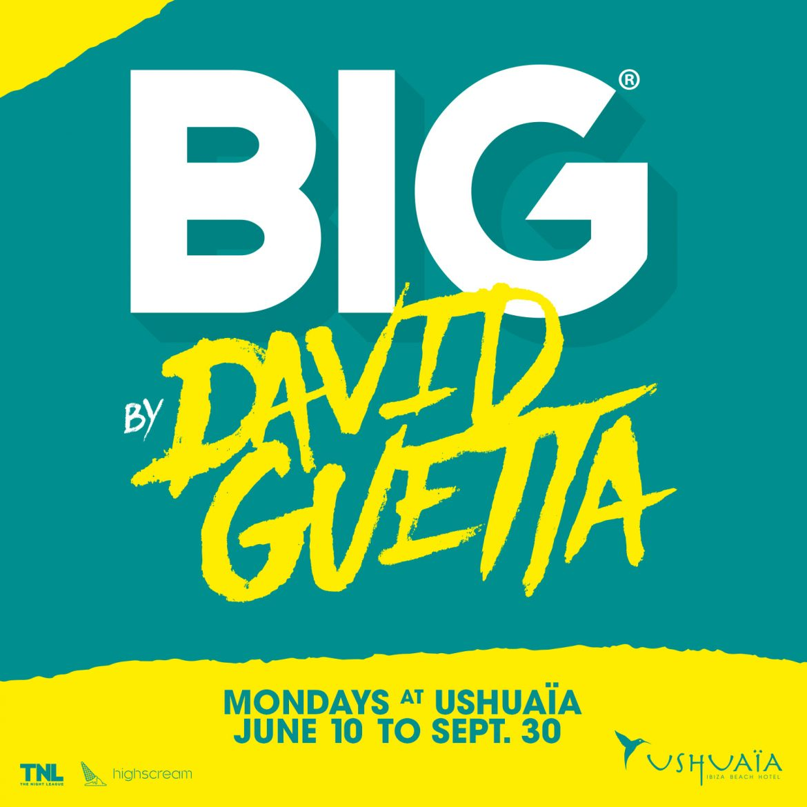 BIG AT USHUAÏA EVERY MONDAY